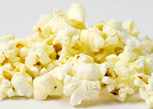 Some cooked popcorn
