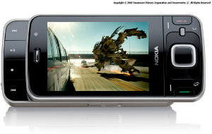 The Nokia N96 smartphone