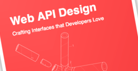 Cover of Web API Design book