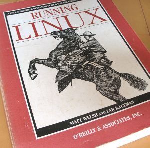Cover of Running Linux book